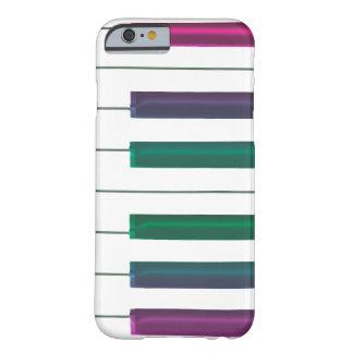 El arco iris fresco cierra el caso del iPhone de Funda De iPhone 6 Barely There