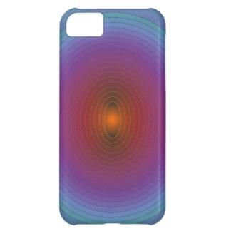 El arco iris iluminado colorea     > caso de Iphon Funda Para iPhone 5C