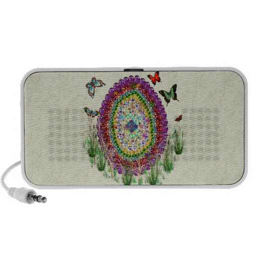 El arco iris Jewels el huevo de Pascua iPod Altavoces