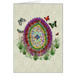 El arco iris Jewels el huevo de Pascua Tarjetas