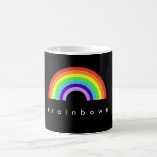 ¡El arco iris morphing de la taza del arco iris…
