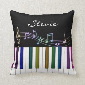 El arco iris observa la almohada personalizada del cojín decorativo