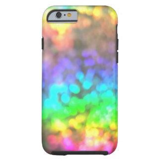 El arco iris psicodélico enciende el caso del funda para iPhone 6 tough
