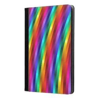 El arco iris psicodélico raya la caja del aire del