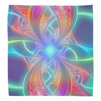 El arco iris psicodélico remolina modelo del bandanas