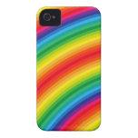 El arco iris raya el modelo Case-Mate iPhone 4 funda