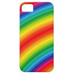 El arco iris raya el modelo iPhone 5 Case-Mate carcasa