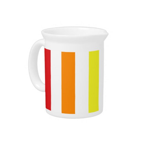 El arco iris raya la jarra