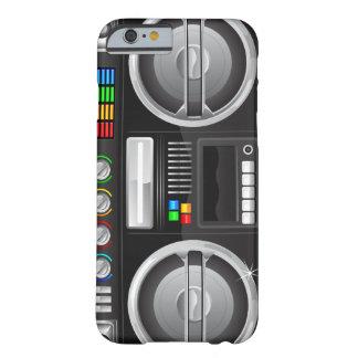 el arco iris retro abotona el amo del ghetto del funda para iPhone 6 barely there