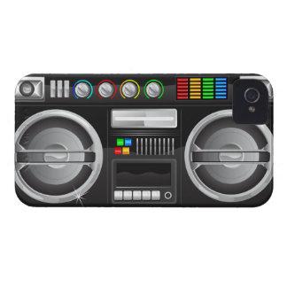 el arco iris retro abotona el amo del ghetto del iPhone 4 protectores