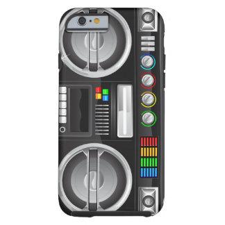 el arco iris retro abotona el arenador del ghetto funda de iPhone 6 tough