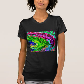 El arco iris rico agita V7 Camiseta