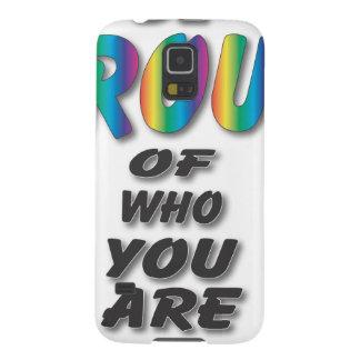 El arco iris sea orgulloso funda para galaxy s5