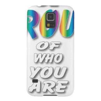 El arco iris sea orgulloso (las miradas mejores en carcasas de galaxy s5