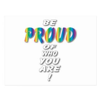 El arco iris sea orgulloso (las miradas mejores en postal