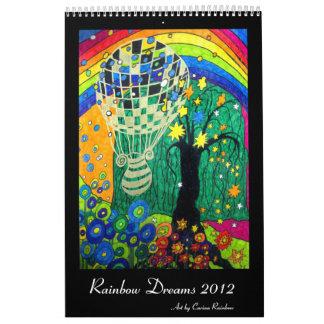 El arco iris soña el calendario 2012
