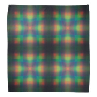 El arco iris suave enciende diseño del extracto de bandanas