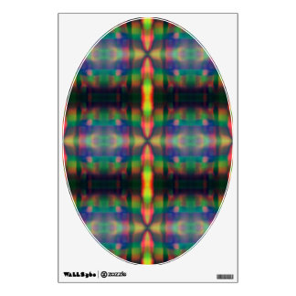 El arco iris suave enciende diseño del extracto de vinilo adhesivo