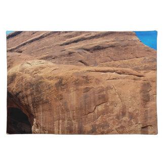 El arco privado arquea el parque nacional mantel individual