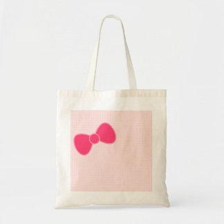 El arco rosado más dulce bolsa tela barata