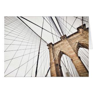 El arco temático, una rejilla de los cables del tarjeta de felicitación