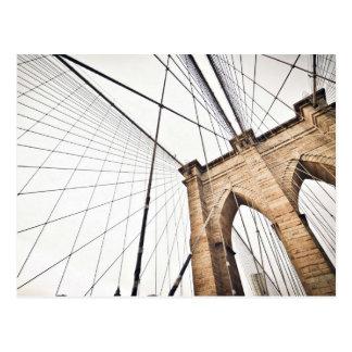 El arco temático, una rejilla de los cables del tarjetas postales