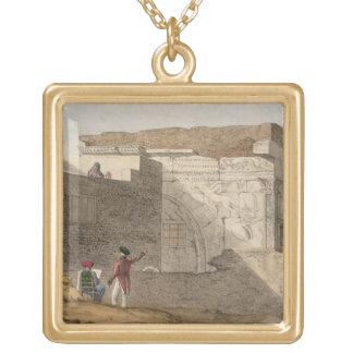 El arco triunfal, Trípoli, platea 4 'de una narrat Colgante Cuadrado