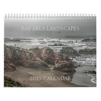 El área de la bahía ajardina el calendario 2015 de