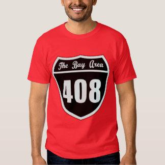 El área de la bahía -- Camiseta Playeras