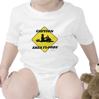 El área inunda rápidamente trajes de bebé