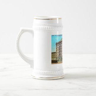El argonauta del hotel jarra de cerveza