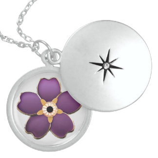 El armenio me olvida no plata esterlina de la flor pendientes