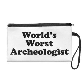 El arqueólogo peor del mundo