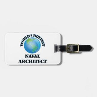El arquitecto naval más caliente del mundo etiquetas para equipaje