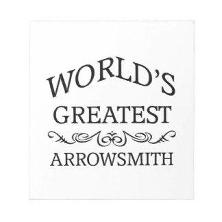 El arrowsmith más grande del mundo bloc