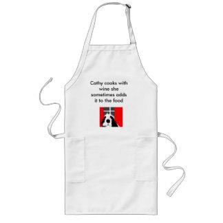 el arte 008, Cathy de los frasers de Margaret coci Delantal Largo
