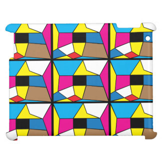 """El arte abstracto """"caras """" encajona el iPad"""