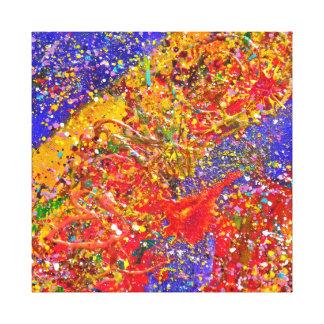 El arte abstracto de Digiri Doozie 6 envolvió la Lona Envuelta Para Galerías