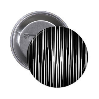 El arte abstracto de las rayas de la cebra del pin redondo de 2 pulgadas