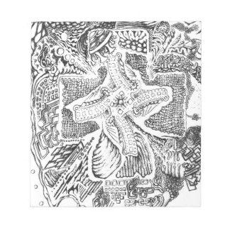 El arte abstracto de Michael Pearson Blocs De Papel