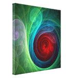 El arte abstracto de Red Storm envolvió la impresi Impresiones En Lienzo Estiradas
