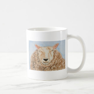 El arte animal del aceo de la acuarela de las taza