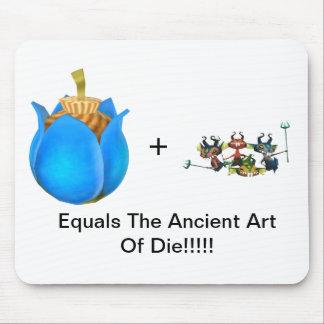 El arte antiguo de muere tapetes de ratón