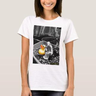 """""""El arte camiseta de goma del pato del zen"""""""
