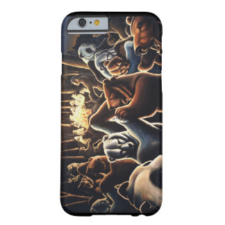 El arte de baile de la fauna del caso del iPhone 6 Funda De iPhone 6 Barely There