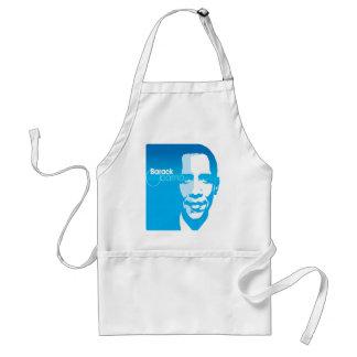 El arte de encargo fresco de Barack Obama remezcla Delantal