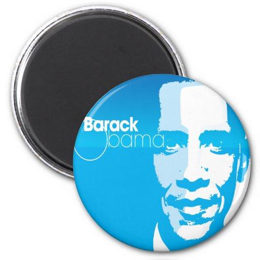 El arte de encargo fresco de Barack Obama remezcla Imanes De Nevera