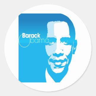 El arte de encargo fresco de Barack Obama remezcla Pegatinas Redondas