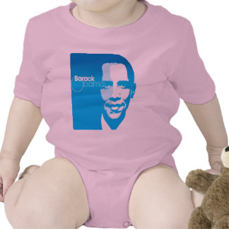 El arte de encargo fresco de Barack Obama remezcla Trajes De Bebé