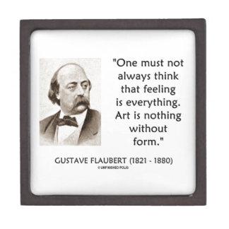 El arte de Gustave Flaubert no es nada sin cita de Cajas De Regalo De Calidad